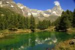 Cervino/ Matterhorn peak in Breuil-Cervinia, Valtournenche, Aost