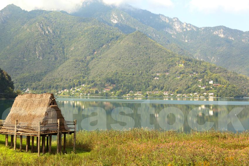 Palafitte of Ledro Lake, Trento, Trentino, Italy