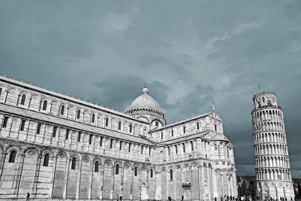 cathedral and Leaning tower, Pisa. Tuscany, Italy